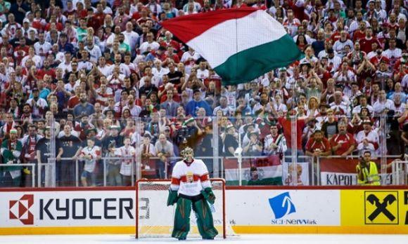 Szlovénia a legrosszabbkor támadt fel a budapesti hoki-vb-n