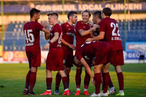 19 éves játékos lőtt győztes gólt a CFR-ben - VIDEÓ