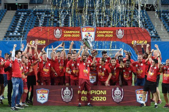 Pazar meccsen nyerte zsinórban harmadik bajnoki címét a CFR!