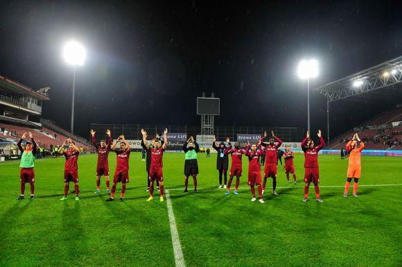 A kiválóan felkészült Sepsi OSK szoros meccset játszott a CFR-rel