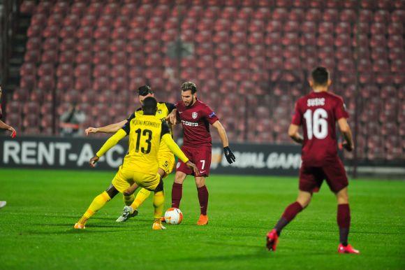 Óriási drámák Svájcban, kiesett a CFR az Európa Ligából