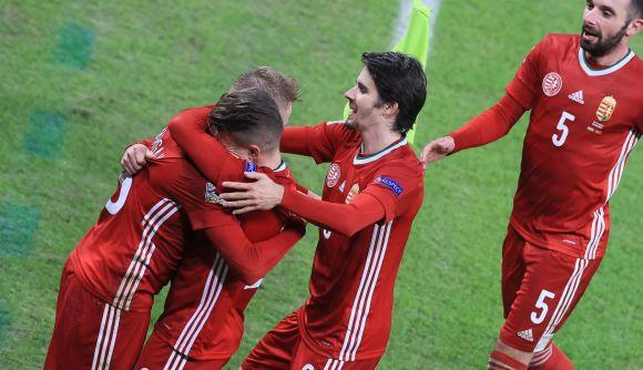 Nincsenek szavak a magyar futballra idén, Magyarország csoportelső a B-ligában!!