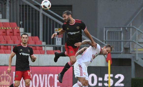Értékes döntetlen és piroslap a Sepsi első nemzetközi kupameccsén!
