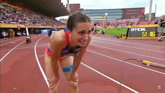 Miklós Andrea: 300 méter után kezdődik el igazán a 400 méteres táv