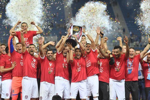 Harmadszor lett szuperkupa-győztes a Kolozsvári CFR