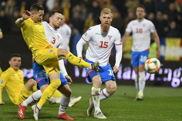 Eb-selejtező: kipipálta a kötelezőt a román labdarúgó-válogatott