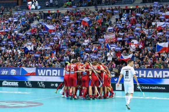 Prágában elkezdődött a 12. floorball-vb