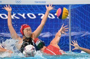 Nehéz győzelem volt, de a japánok legyűrésével negyeddöntős lett a magyar női vízilabda-válogatott