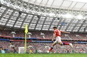Jól kezdett az orosz fociválogatott a hazai rendezésű vb-n