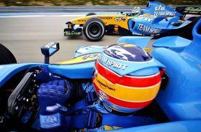 Fernando Alonso visszatér a Forma-1-be!