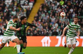 Európa Liga: A Celtic vendégeként is kikapott a Ferencváros
