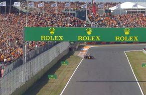 Holland Nagydíj: Verstappen a pole pozícióban Zandvoortban