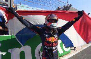 Holland Nagydíj: Verstappen győzött és vezet az összetettben