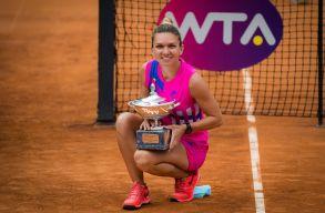 Simona Halep nyerte a római tenisztornát