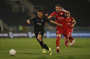 Holender Filip góllal járult hozzá a Partizan Belgrád újabb sikeréhez - VIDEÓ
