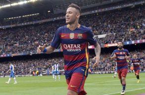Pert nyert a Barcelona a Santos ellen