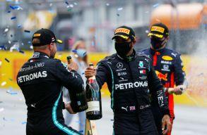 Hamilton nyerte az első Stájer Nagydíjat