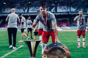 Szoboszlai Dominik az év játékosa Ausztriában