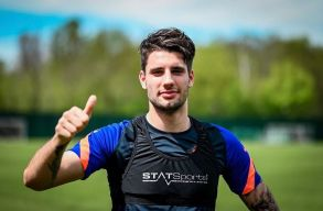 Szoboszlai Dominik már az RB Leipzig csapatával edzett!