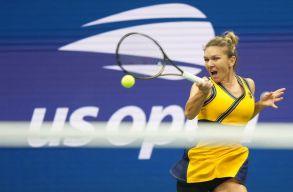 Vereséget szenvedett Simona Halep a US Open nyolcaddöntőjében