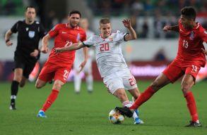 Legyőzte az azerieket a magyar válogatott, s így életben maradtak a reményei, hogy kijusson az EB-re