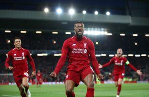Szenzációs fordítás az Anfielden: BL-döntős a Barcának visszavágó Liverpool