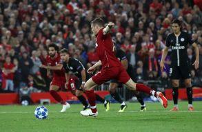 BL: ötgólos meccsen veszített Liverpoolban a PSG