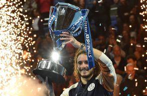 Cicipasz nyerte a londoni tenisz-világbajnokságot, Rafael Nadal az év végi világelső