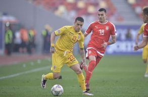 Gólnélküli döntetlennek örülhet a román válogatott Szerbia ellen