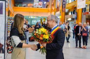 Megérkezett Kolozsvárra Simona Halep és Martina Hingis