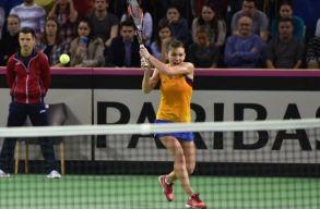Fed-kupa: mindkét szombati mérkőzését megnyerte Románia Svájc ellen