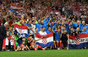 Először döntőzhet foci-vb-n a horvát válogatott