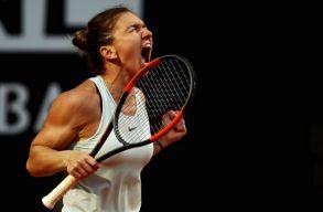 Simona Halep legyőzte mumusát, és bejutott a római torna döntőjébe