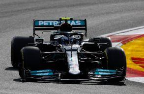 Török Nagydíj:Hamiltonnyerte az időmérőt, de Bottas indulhat az élről