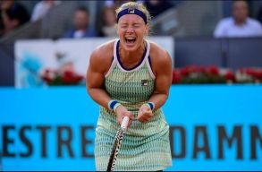 Oszaka köszöni: Kiki Bertens a Madrid Open női bajnoka