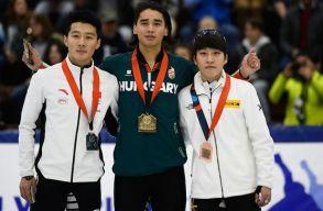 Rövidpályás gyorskorcsolya világkupa: ezúttal Liu Shaolin nyert 1000 méteren