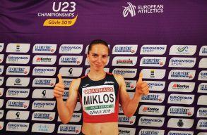Atlétika: Miklós Andrea bronzérmes a svédországi korosztályos Eb-n