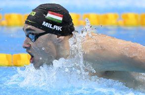 Tokió 2020: Óriási fölénnyel olimpiai bajnok Milák Kristóf 200 méter pillangón