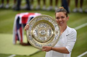Simona Halep a wimbledoni tenisztorna új bajnoka