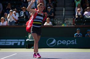 Könnyes búcsút vett Simona Halep az Indian Wells-i tornától