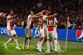 BL: Szalaiék ikszeltek Harkivban; háromgólos Ajax-siker