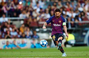 Messi szabadrúgásból... – itt az új BL-szezon első gólja