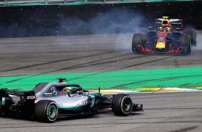 Hamilton nyerte Verstappen versenyét, világbajnok a Mercedes