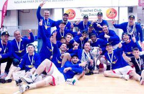 Újra bajnok a Nagyváradi VSK férfi kosárlabdacsapata