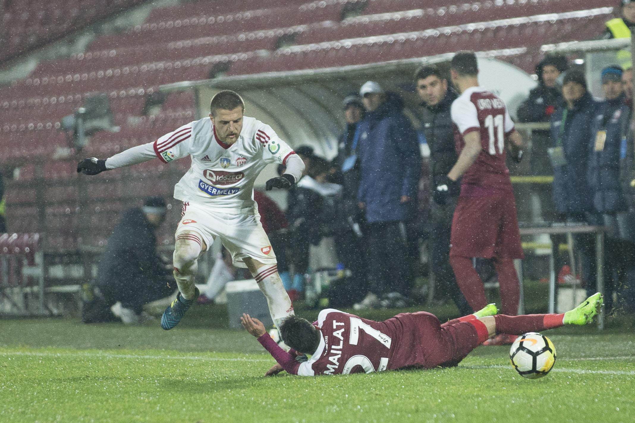 Másfél gólt kapott Kolozsváron a Sepsi OSK