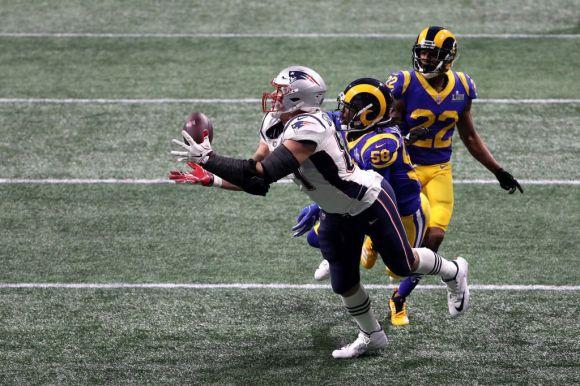 A New England Patriots nyerte az egy touchdownt hozó NFL-döntőt