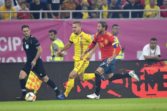 Nem sikerült a bravúr, Románia vereséget szenvedett Spanyolországtól