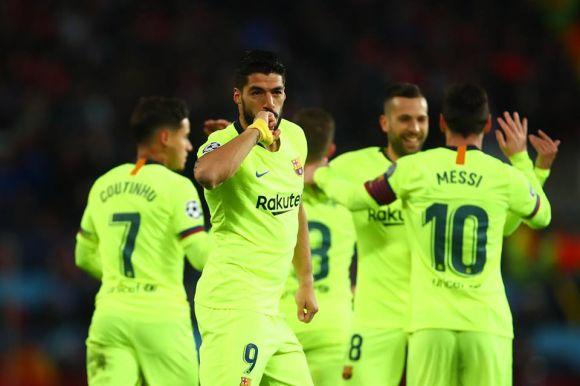 A Barcelona először nyert az Old Traffordon