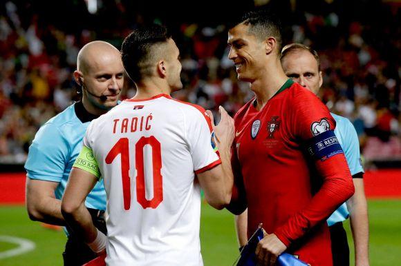 Beragadt a rajtnál az Európa-bajnok portugál válogatott