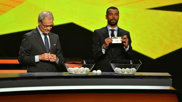 Európa Liga: nehéz csoportban a CFR és a Fradi